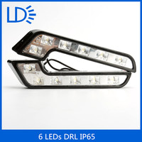 High power 6leds special daytime running light for car and motorcycle