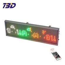 Programmable flashing led store advertising signs