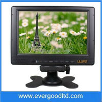 "7"" TFT LCD On-camera Field Viewing Angle120 degree/140 degree(H/V) Lilliput 668GL-70NP/H/Y HD Monitor for DSLR Battery Included"