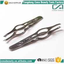 Top Quality professional stainless steel beauty eyebrow tweezers