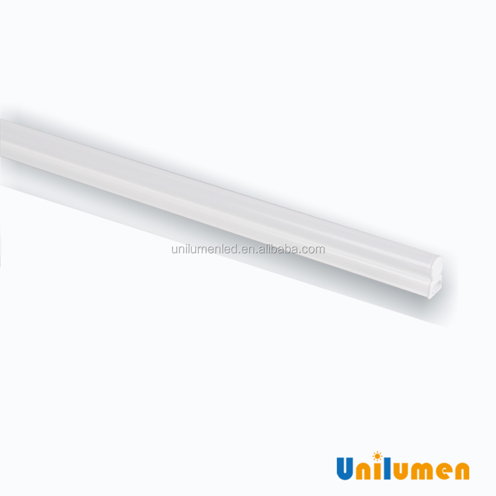2017 Hot sale IP20 LED tube lights indoor lighting 1ft 2ft 3ft 4ft 4w 7w 9w 12w T5 LED fixture UL