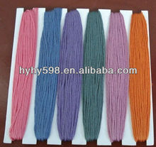 15020315 Wholesale cotton threads cross stitch thread for embroidery /sewing 100% cotton thread floss dmc