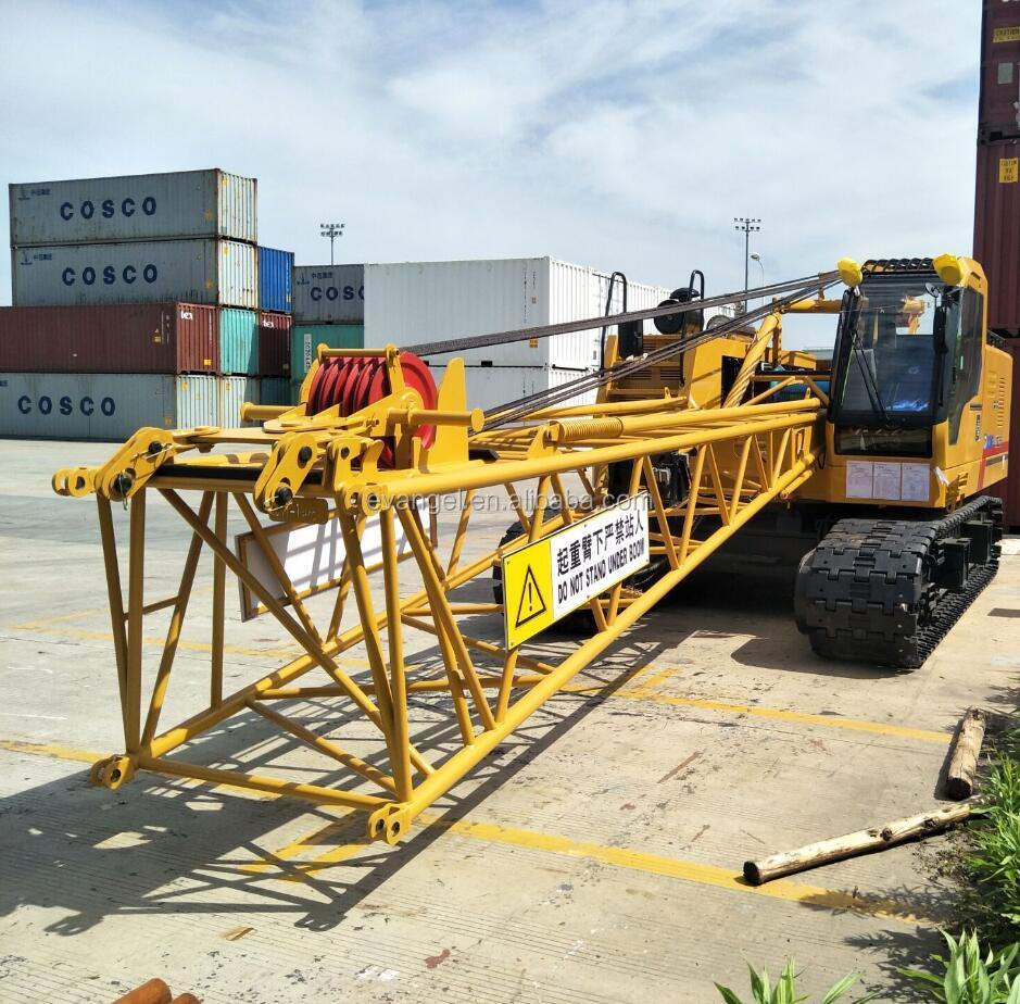 Xuzhou Factory 55 ton Hydraulic Crawler Crane Price XGC55 Mobile Crane for sale