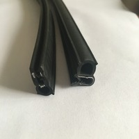 Supply high quality good price pvc rubber seal strip / Window glass rubber trim