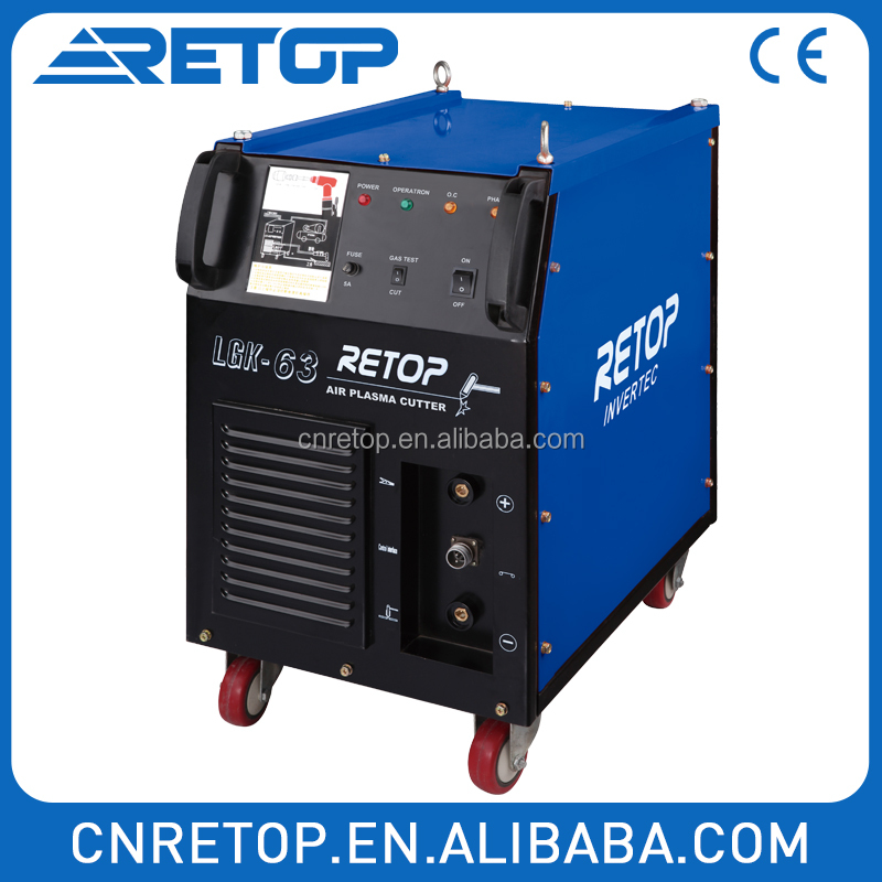 Retop High-energy plasma arc melts Air Plasma Cutter LGK 100