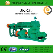 Clay solid brick making machine vacuum extruder for india brick plant