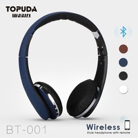 Top bluetooth headsets over the ear bluetooth headset wireless stereo headphones
