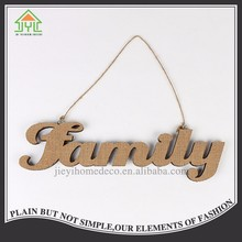 manufacture antique 3d wall hanging decoration sign wood letter
