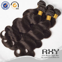 Top selling high quality color 2# malaysian ocean body wave hair