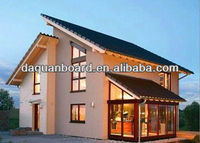 2013 New Type Prefab House For Family Living/eps cement sandwich wall panel