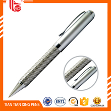 OEM custom carbon fibre design metal ball pen