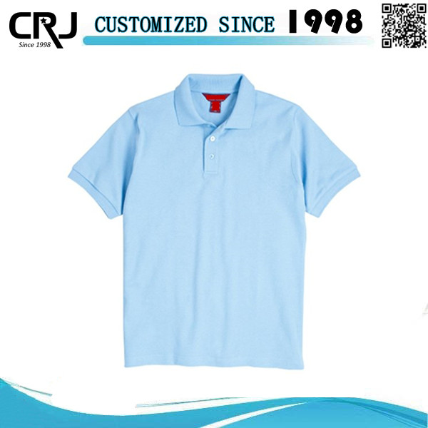 Work Uniform Breathable Polo Shirts For Unisex
