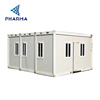 Prefab house container for wood house