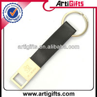 2013 Personalized leather metal key chain