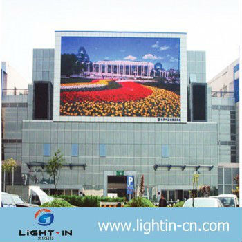 HD full color advertising use video LED display screen smd outdoor p12 led display