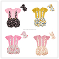 2017 wholesale baby girls chery pie clothing sets for newborn baby girl !