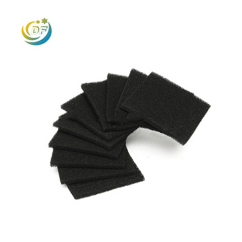 Honeycomb type odor removal odor absorbing polyurethane air filter honeycomb carbon sponge filter