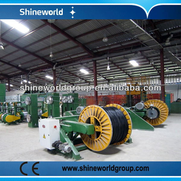 1250 mm Double Twist copper wire bunching machine