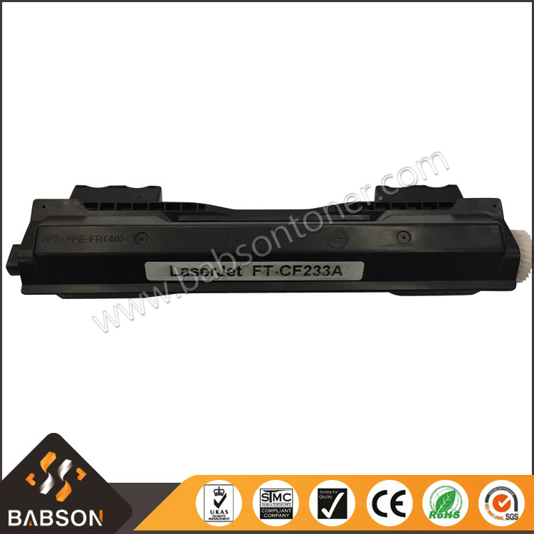 New Product Factory Direct Sale Compatible CF233A Black Toner Cartridge for HP Printer