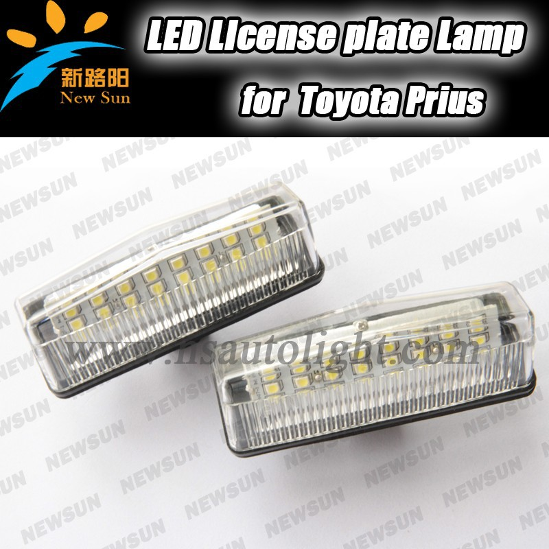 LED License Plate Lamp, License Plate Light, Car License Plate Lights For Prius