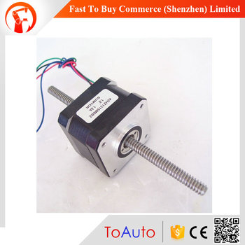 42HZ1315M6B2 1.5A 0.22Nm L=130mm NEMA 17 Lead Screw Linear Stepper Motor