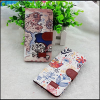 World Map PU Leather Wallet Case for iPhone 6 Plus 5.5 inch