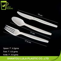 Plant starch biodegradable tableware/corn starch utensils