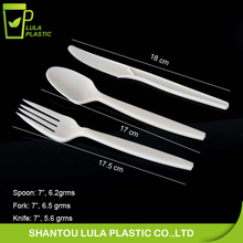 Plant starch biodegradable tableware/corn starch utensils