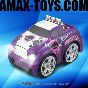 mc-287862 Mini Q Car One Side 4 X 4 Wheel Driving