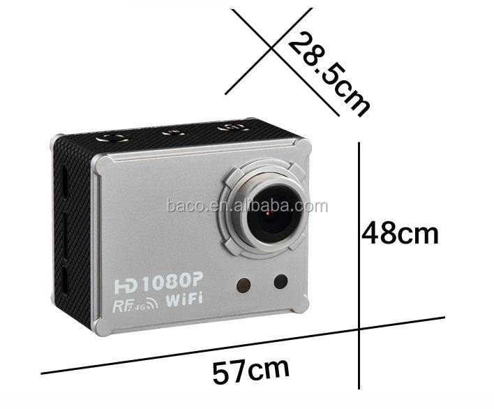 AT200 waterproof action camera wifi car mini dv camera