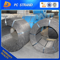( real factory ) 9.53mm pc steel wire strand used in prestressed concrete estate