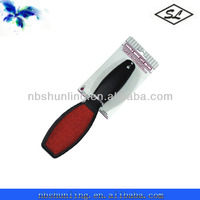 double side plastic clothes brush lint remover