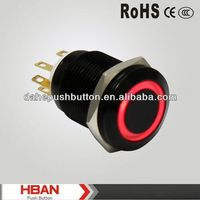 CE ROHS micro led pushbutton switch