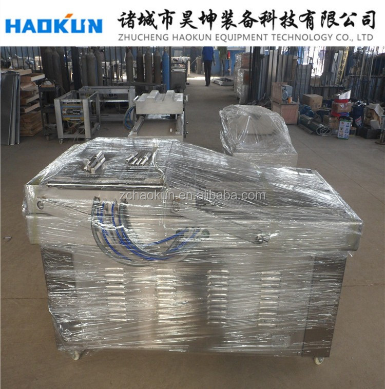 Bean brick vacuum packing machine /interior pumping double chamber vacuum sealer