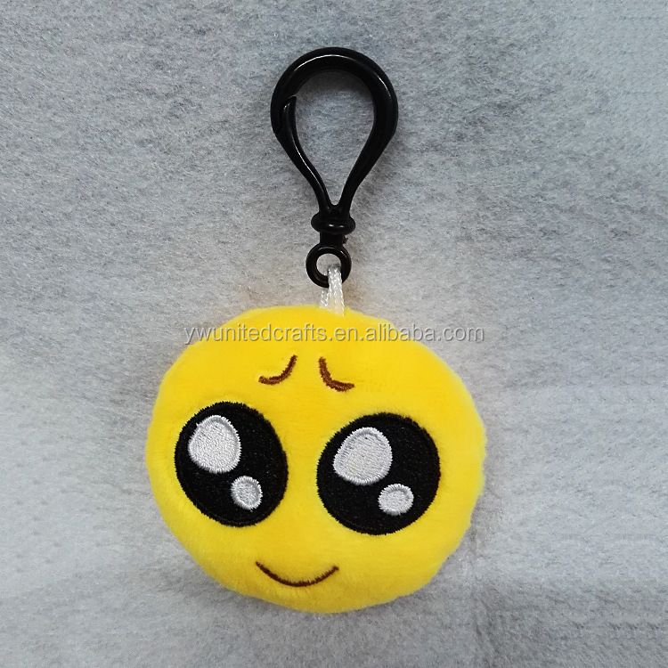 Best price emoji keychain , Hot Sale Promotion gifts , Phone chain