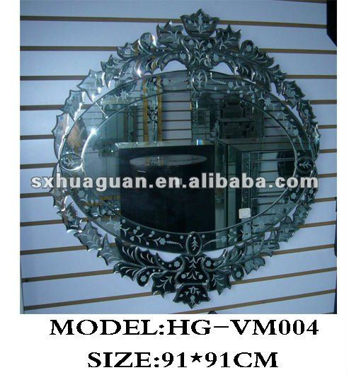 special shaped retro style venetian wall mirror for home decoration