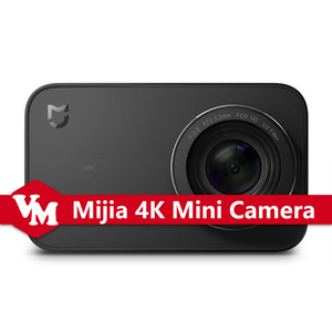 Original Xiaomi Mijia Portable 4K Action Mini Camera 30fps Video Recording 145 Wide Angle 4K Camera 2.4 Inch Screen Mijia Camera