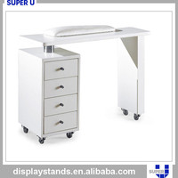 Retail garment shop counter used step display counter postcard display stand