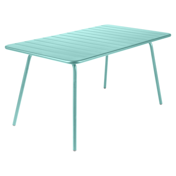French Outdoor Garden Metal Dining Table