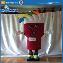 Professional vivid event organisation logo marketing and promotion character high quality custom mascot costume