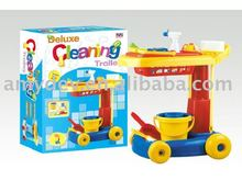 Toy Cleaning Set Doll strollers Toys For Kid Promotional Toy