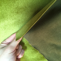 home textile fabric bonded with knit fabric embossed velvet upholstery fabric