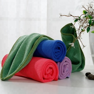 Hot selling 2018 cheap towel all functional microfibre house cleaning towels wipe rags