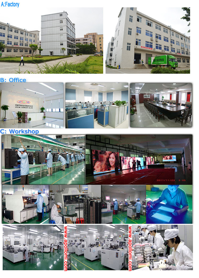 3G 4K video advertising led display wall screen panel P10mm
