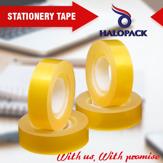 new product direct buy china Manufacturer bopp transparent school stationery tape