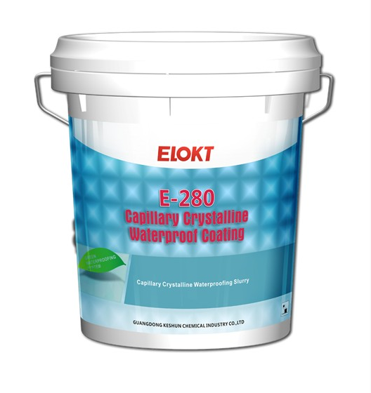 E-280 Capillary Crystalline Waterproof Coating Cement based mortar