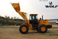 Heavy equipment for road construction wheel loader ZL50 162kw/220HP loader
