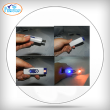 12 kinds different color usb electronic cigarette lighter.flameless lighter