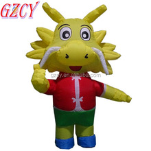 Giant inflatable dragon animals model /inflatable characters for inflatable advertising