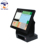 15 inch 1024 x 768 bezel free widows all in one touch screen pos for joan